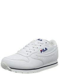 Tenis blancos de Fila