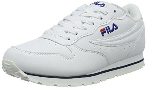3edefaf04fc ... Tenis blancos de Fila ...
