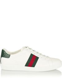 Comprar unos tenis blancos Gucci de NET-A-PORTER.COM  33963d7eeae