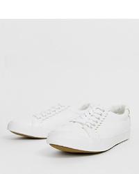 Tenis blancos de New Look Wide Fit