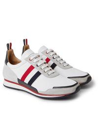 Tenis blancos de Thom Browne