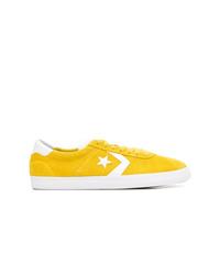 Tenis de ante amarillos de Converse