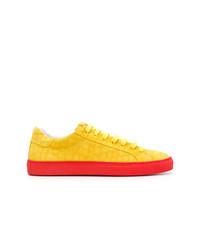 Tenis de ante amarillos de Hide&Jack