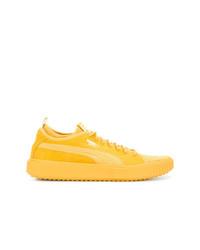 Tenis de ante amarillos de Puma