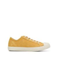 Tenis de ante amarillos de YMC