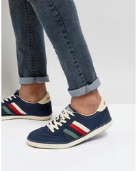 Tenis de ante azul marino de Lambretta