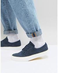 Tenis de ante azul marino de Nike SB