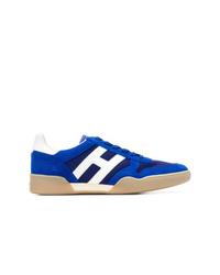 Tenis de ante azules de Hogan