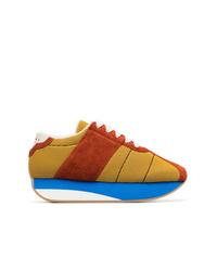 Tenis de ante en multicolor de Marni