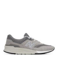 Tenis de ante grises de New Balance