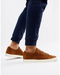 Tenis de ante marrónes de Polo Ralph Lauren