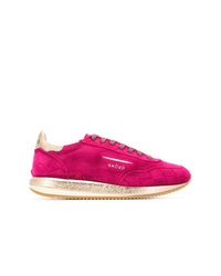 Tenis de ante rosa