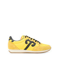 Tenis de cuero amarillos