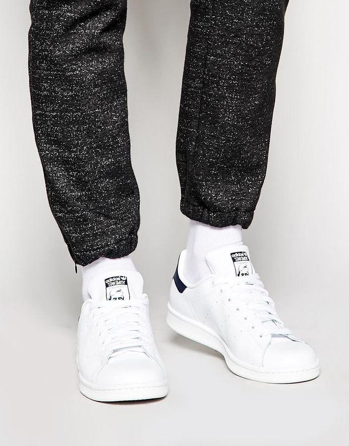 178b30985b5 Tenis de cuero blancos de adidas  dónde comprar y y y cómo combinar 965a66