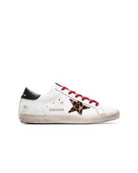 Tenis de cuero blancos de Golden Goose Deluxe Brand
