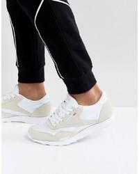 Tenis de cuero blancos de Reebok