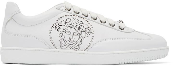 Versace Tenis Blancos