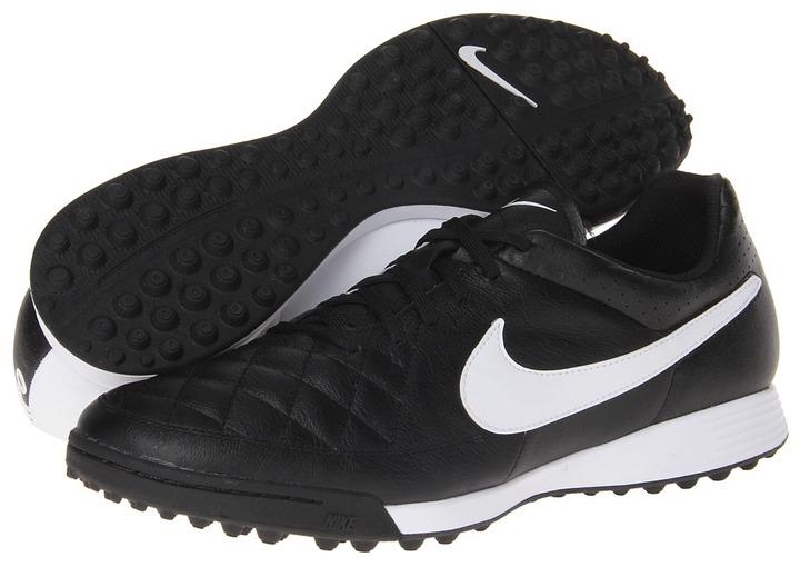 Tenis Tenis Tenis de cuero en negro y blanco de Nike: dónde comprar y cómo combinar 2cf9f1