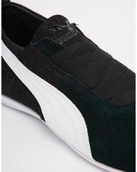019b7f6cf Tenis de cuero negros de Puma: dónde comprar y cómo combinar