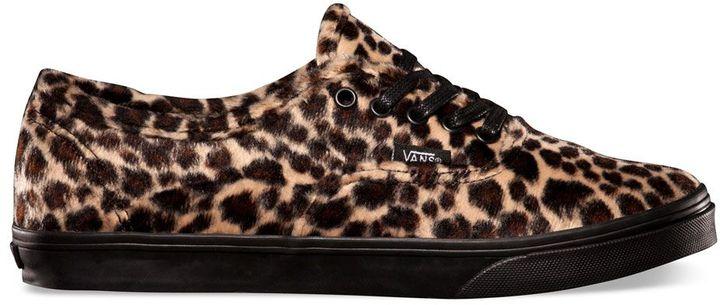 tenis de leopardo vans