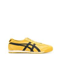 Tenis de lona amarillos de Asics
