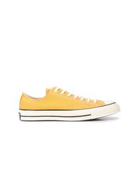 Tenis de lona amarillos de Converse