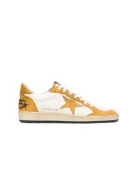 Tenis de lona amarillos de Golden Goose Deluxe Brand