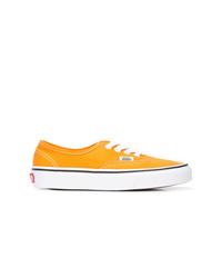 Tenis de lona amarillos de Vans
