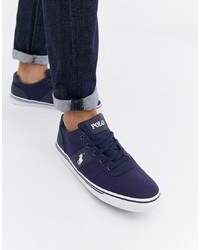 Tenis de lona azul marino de Polo Ralph Lauren