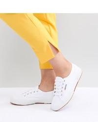 Tenis de lona blancos de Superga