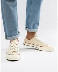 Tenis de lona en beige de Converse