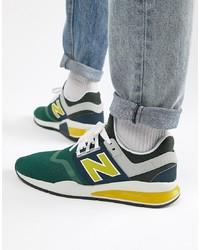 Tenis de lona en multicolor de New Balance