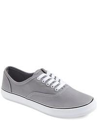 Tenis de lona grises