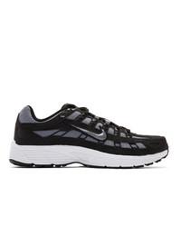 Tenis de lona negros de Nike