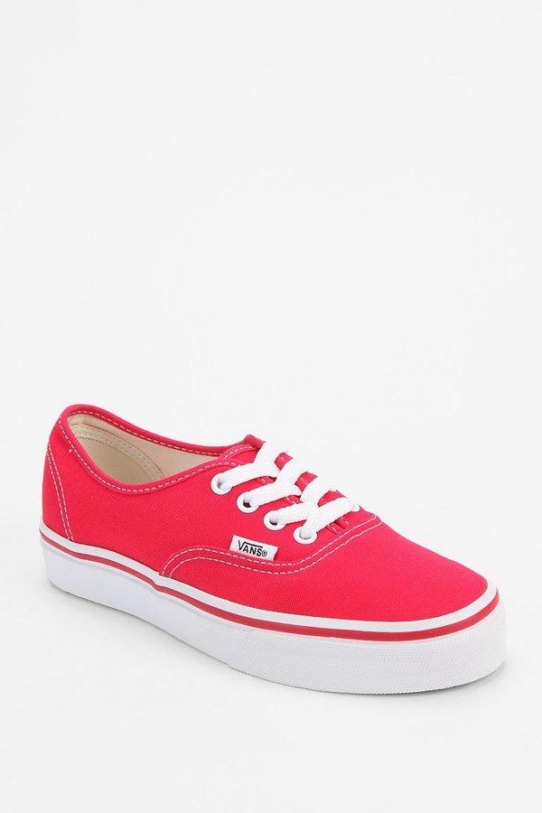 Vans Tenis Rojos