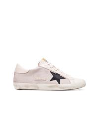 Tenis de lona rosados de Golden Goose Deluxe Brand
