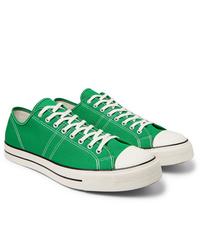 Tenis de lona verdes de Converse