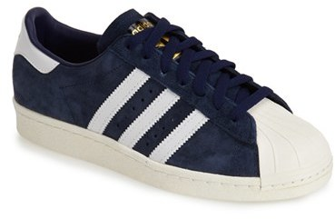 zapatillas adidas superstar azul