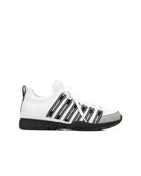 Tenis en blanco y negro de DSQUARED2