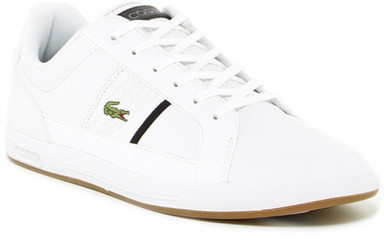 Tenis Lacoste Blanco Mujer