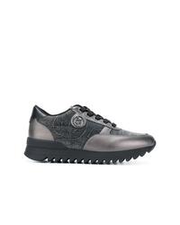 Tenis en gris oscuro de Armani Jeans