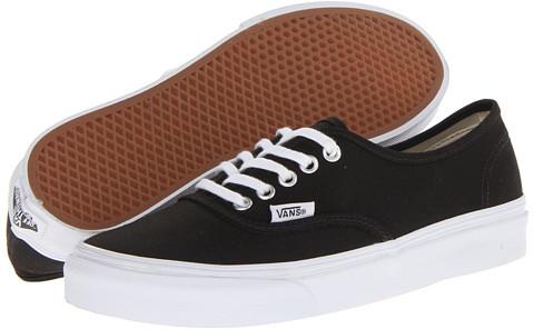 zapatillas vans mujer negra y blanca