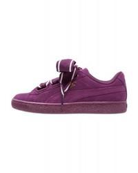 Tenis en violeta de Puma