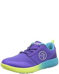 Tenis en violeta de Zumba Footwear