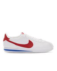 Tenis estampados blancos de Nike