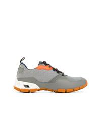 Tenis grises de Prada