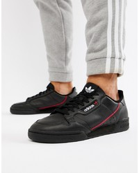 Tenis negros de adidas Originals