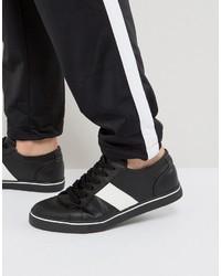 Tenis negros de Asos