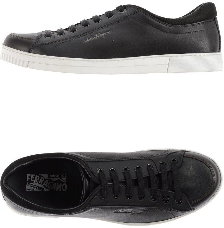 Moda para Hombres \u203a Zapatos \u203a Zapatillas \u203a Tenis \u203a Tenis Negros Tenis Negros de Salvatore Ferragamo