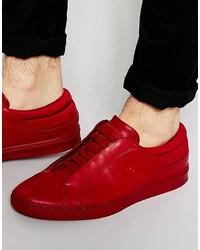 Tenis rojos de Hugo Boss